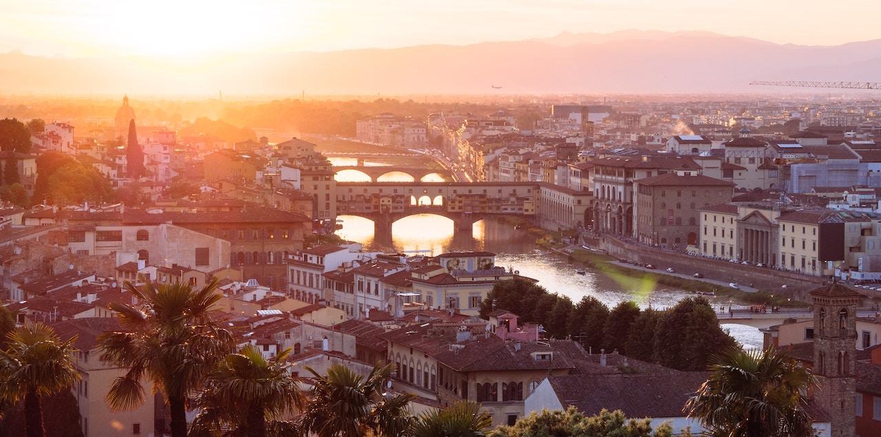 Florence italian language origin